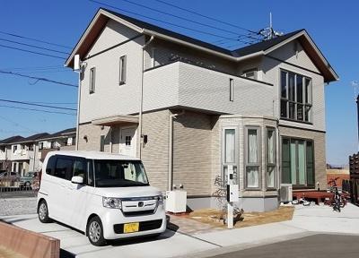 住宅性能最高ランク!セキスイハイムの木の家(ツーユーホーム)2×6のモノコック構造。落ち着きのある華やかさをプラスしたタイル張りの高級感漂う外観。