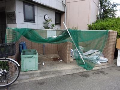 ゴミ置き場です