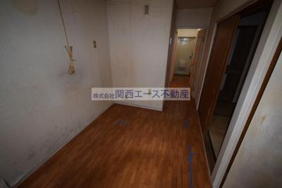 【居間・リビング】石切パークサイドマンション