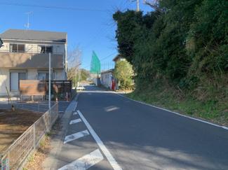千葉市緑区土気町 交通量の少ない安全な道路です。