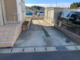 千葉市緑区土気町 2台分の駐車ゆったりと取れます。