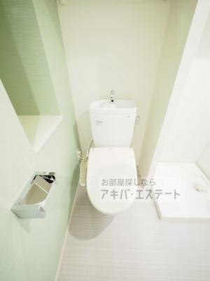 【トイレ】ハーモニーテラス青井Ⅴ
