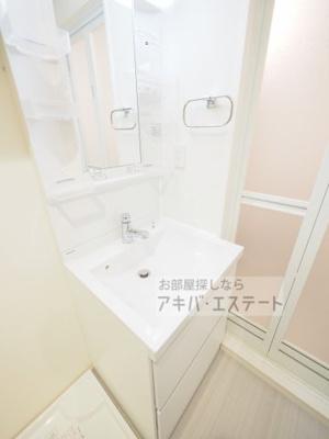 【洗面所】ハーモニーテラス青井Ⅴ