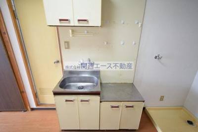 【キッチン】レジデンスやまびこ