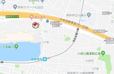 【地図】レオパレスコレマサ (31039-102)