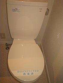 IL PALAZZO曳舟のトイレです