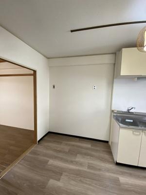 【キッチン】富雄サニーハイツ