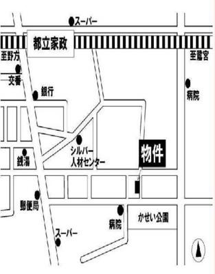 ライフピアクレールの地図☆