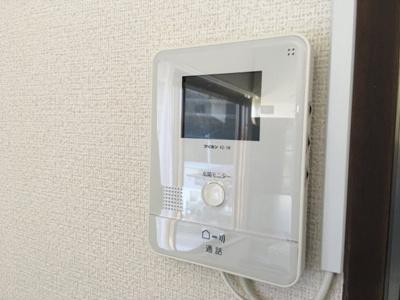 モニター付インターフォン♪