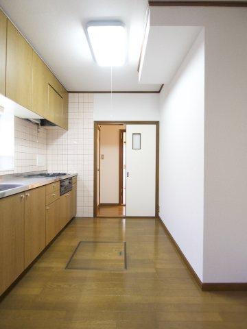 【キッチン】古賀市舞の里2丁目戸建て