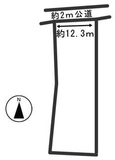 【区画図】54434 揖斐郡大野町黒野土地