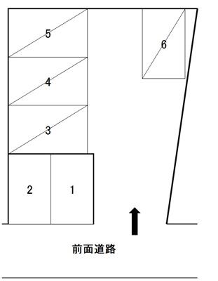 【区画図】阿弥陀寺町K駐車場