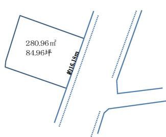【土地図】本新町売地