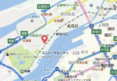【地図】リバーガーデンECOシティアリスの森