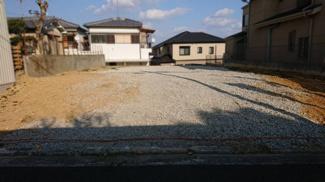 堺市西区上野芝向ヶ丘町 売り土地 2区画 建築条件なし