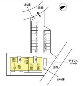 【区画図】Girasole(ジラソーレ)