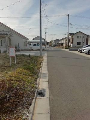 【前面道路含む現地写真】みどりの東43番3