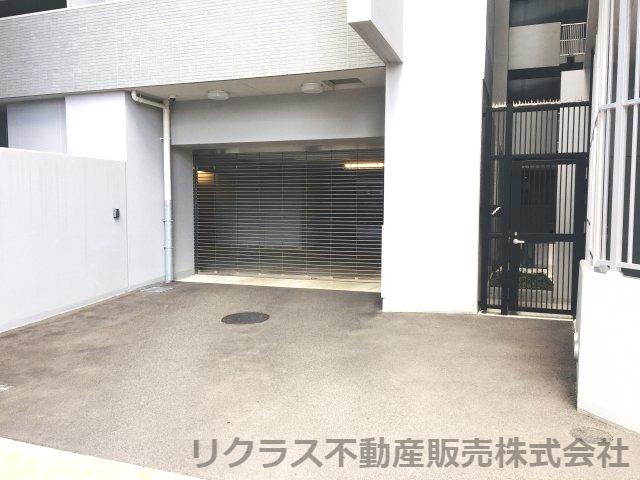 駐車場の入口です