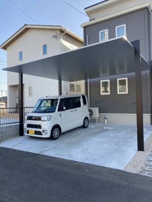 【駐車場】阿倉川一戸建て