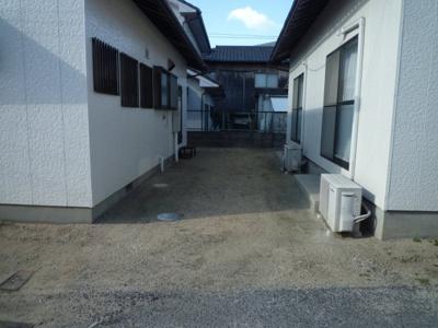 児島上の町 戸建て 2DK 駐車場
