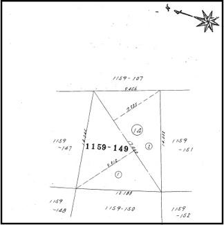 1159-149(地目:山林、地積:155㎡)