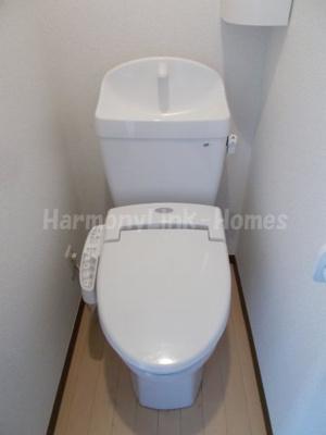 アペックス上板橋のコンパクトで使いやすいトイレです☆
