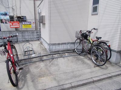 アペックス上板橋の駐輪スペース☆