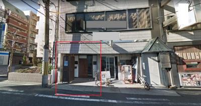 【外観】堺東4分!約14坪 1階 店舗事務所
