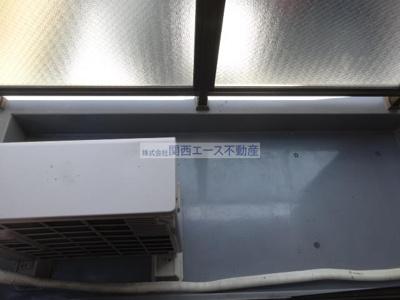 【バルコニー】クワイエット赤井