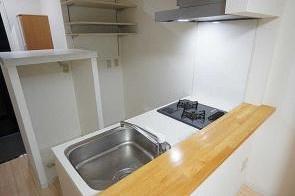 【キッチン】松山市平和通3丁目一棟マンション