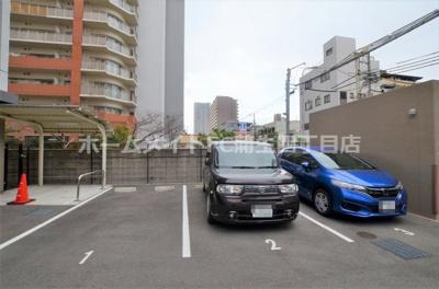 【駐車場】レジュールアッシュ都島