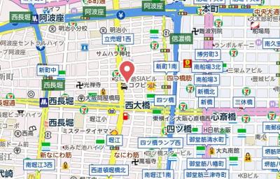 【地図】Fride新町