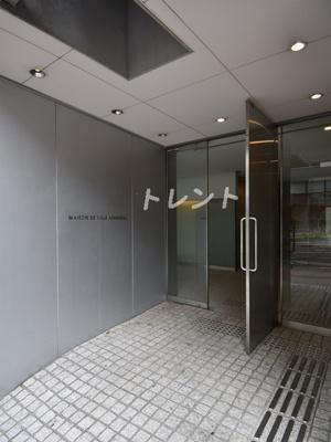 【エントランス】メゾンドヴィレ麻布台