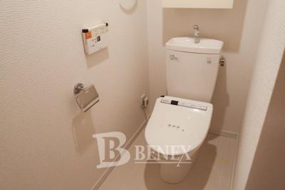 日神デュオステージ新宿若松町のトイレです