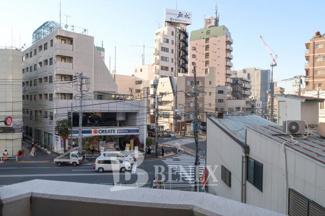 日神デュオステージ新宿若松町の展望です