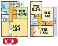 西宮市上田中町 新築戸建 3号棟の画像