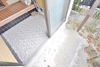 【玄関】はびきの4丁目貸家