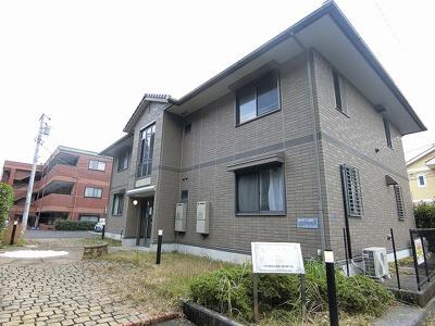 小田急線「栗平」駅より徒歩6分!緑豊かな住宅地にある2階建てアパート♪1フロア2住戸で快適に暮らせます♪
