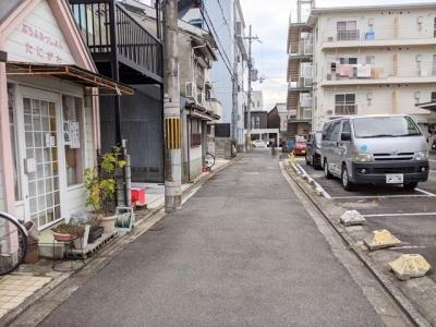 【前面道路含む現地写真】京都市中京区西ノ京西月光町