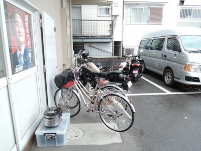 【駐車場】カセイハイツ