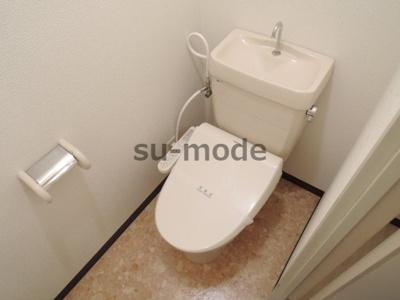 【トイレ】カセイハイツ