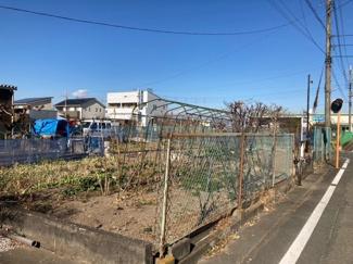 【外観】高崎市京目町売地