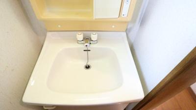 二階の洗面所