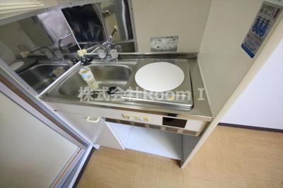 【キッチン】JPアパートメント大阪谷町