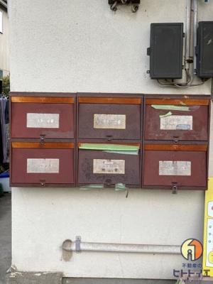 郵便受けです