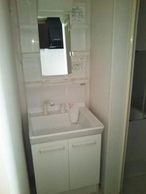 サンライズ西千葉の洗面台