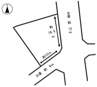 【外観】54063 羽島市小熊町天王土地