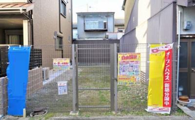 【外観】南区唐橋花園町 建築条件付き土地