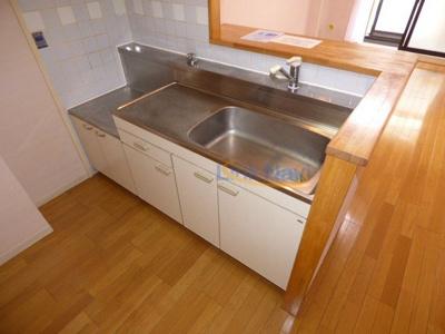 【キッチン】JUNWAマンションⅡ