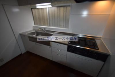 【キッチン】南荘町貸家